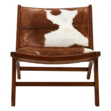 ECLECTIC BOHEMIAN HIDE CHAIR