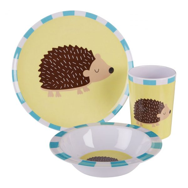 KIDS HEDGEHOG DINNER SET