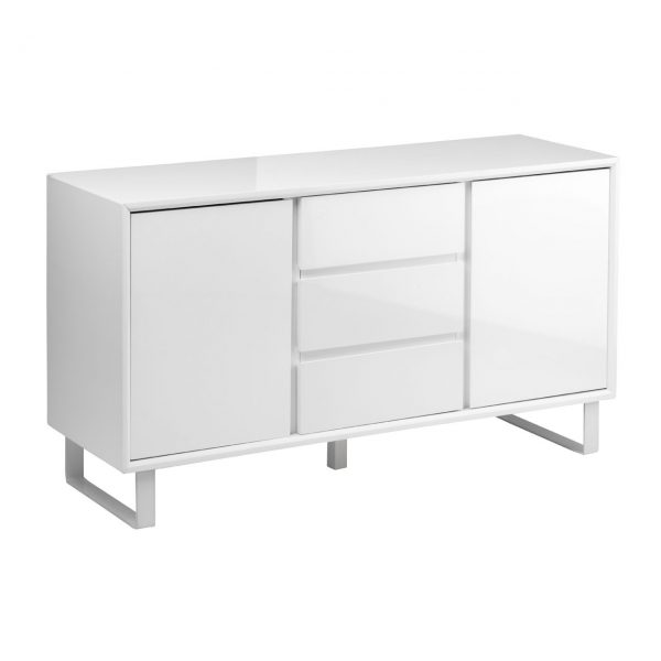 GLOSS WHITE CONTEMPORARY SIDEBOARD
