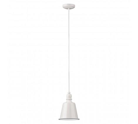 Contemporary Bell Pendant Light white