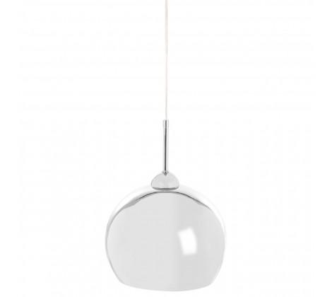 Contemporary Chrome Ball Pendant Light
