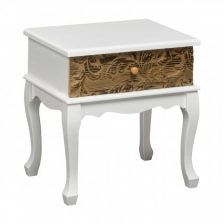 Eclectic Embossed Side Table
