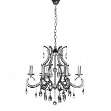 Elegant Crystal 6 Arm Chandelier