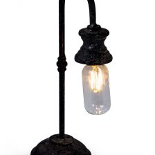 Industrial Iron LED Table Lamp