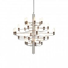Modern 30 Bulb Chrome Chandelier