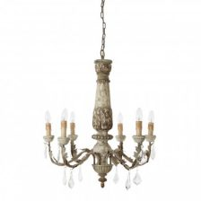 Rustic 6 Arm Chandelier