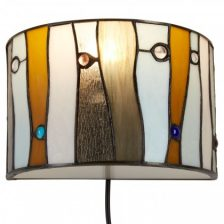 Stained Glass Eclectic Wall Lamp