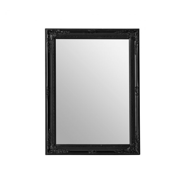 BLACK FRENCH STYLE FEATURE MIRROR