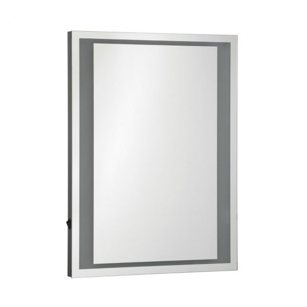 CONTEMPORARY LED LIT SOFT GLOW MIRROR