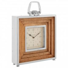 DECO MANGO MANTLE CLOCK
