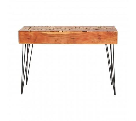 Boho Acacia Wood Console 3