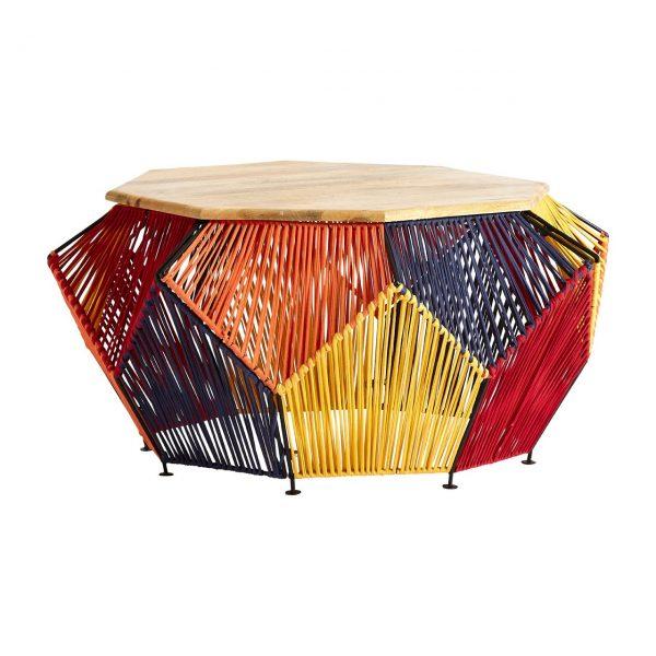 Boho Multicoloured Coffee Table