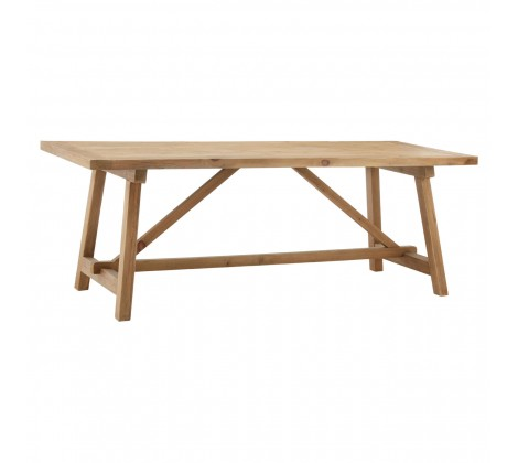 Modern Recycled Pine Dining Table 1