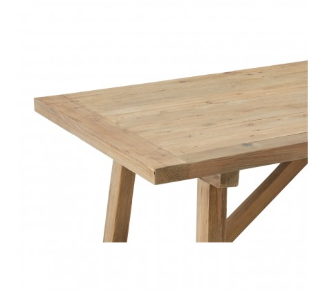 Modern Recycled Pine Dining Table 2