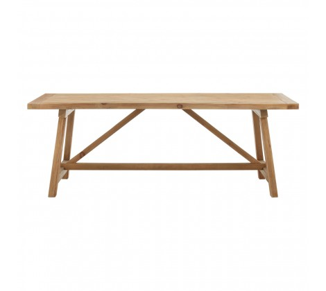 Modern Recycled Pine Dining Table