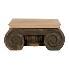 CORINTHIAN STYLE GREY ECLECTIC COFFEE TABLE