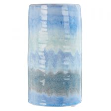 HIGH GLOSS BLUE VASE