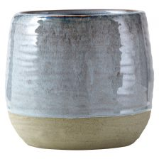 MEDIUM PASTEL GREY PLANTER