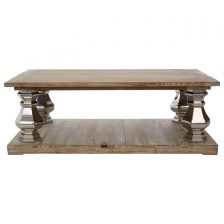 CONTEMPORARY PINE WOOD COFFEE TABLE