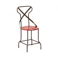 Industrial Metal Dining Chair