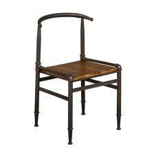 Industrial Metal Frame Dining Chair