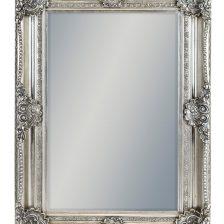 Classic Silver Rectangular Mirror