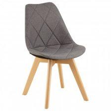 Modern Grey Diamond Dining Chair
