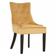 Modern Velvet Tufted Dining Chair