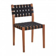 Modern Woven Webbed Dining Chair