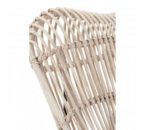 monochrome rattan occasional chair 4