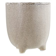 NATURAL STONEWARE SMALL PLANTER