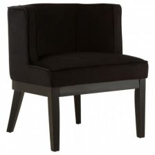 Modern Black Occasional Chair