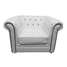 CLASSIC CHESTERFIELD CHAIR WITH DIAMANTE BUTTONS