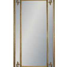 GOLD FRENCH STYLE RECTANGULAR EXTRA LARGE MIRROR